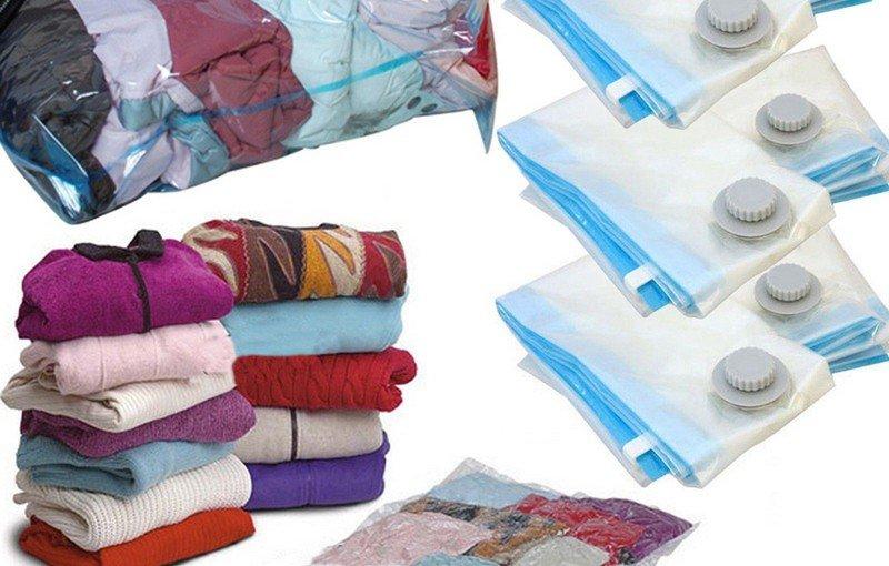 Saci vid haine – ideali pentru stocarea obiectelor voluminoase