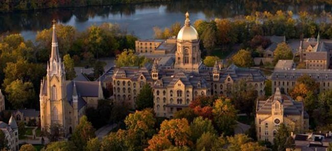 1. University of Notre Dame, Idaho, USA