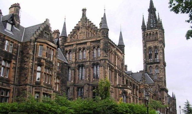8. University of Glasgow, Scotland